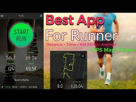 Running Dastance Tracking + KM + Time + Map + GPS || BEST APP FOR RUNNERS || must use of the app