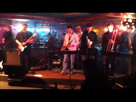Mike Milligan and Steam Shovel w/ Smokestack Horns. LUCKY MAN. 1-15-11 @ Tom Thumb. Kokomo, IN