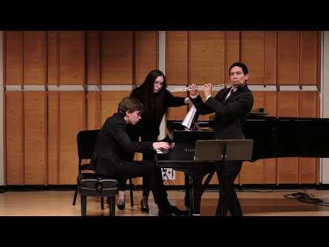 Liebermann: Sonata for flute and piano, II. Presto energico