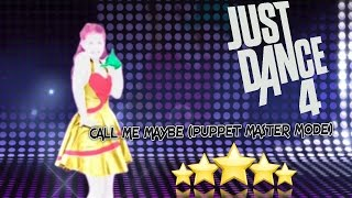 Just Dance 4 - Call Me Maybe (Puppet Master Mode) - 5 Stars (CO-OP)