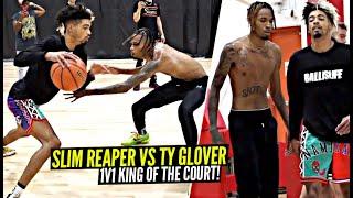 1v1 Slim Reaper vs Ty Glover!! Ballislife Squad Members INTENSE 1V1 BATTLE!