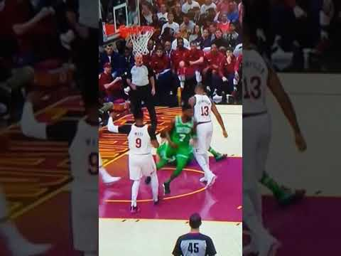 Gordon Hayward ankle injury slow motion