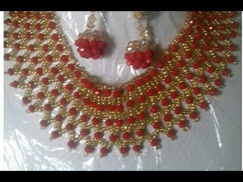 the tutorial on how to make this net beads