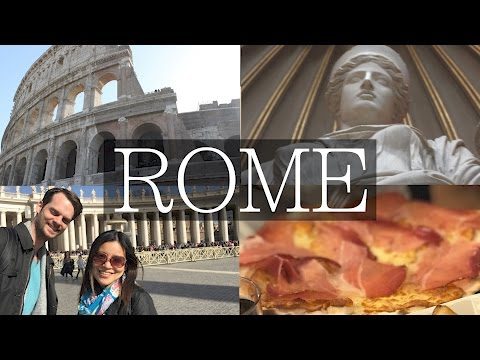 3 Days in Rome Vlog! Colosseum, Forum, Vatican, Food, Travel