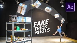 FAKE 3D Trick Shots like DUDE PERFECT in After Effects