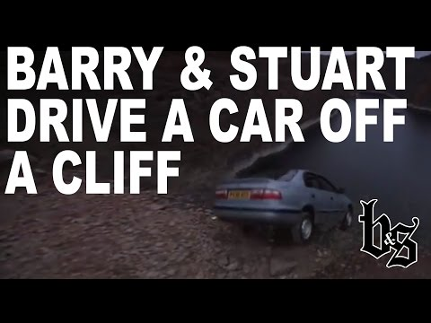 Barry And Stuart Drive A Car Off A Cliff