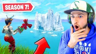 The *NEW* ICEBERG in Fortnite! (SEASON 7)