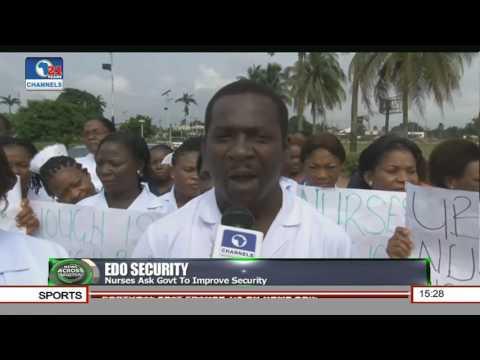 UBTH Nurses Protest Abduction Of Colleague