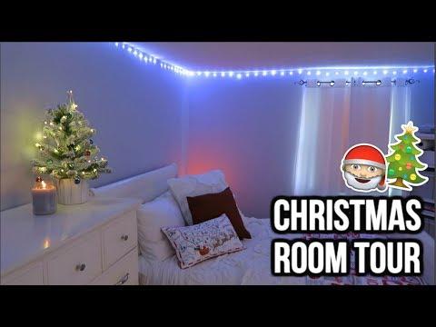 Christmas Room Tour 2017 | Amanda Grace