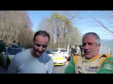 Essais : Gilles Nantet avant le rallye Lyon Charbonnières Rhône 2014