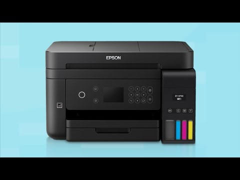 Connecting Your Printer to a Wireless Network Using the Control Panel