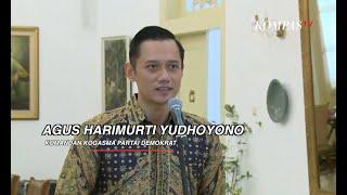 [FULL] Pernyataan Agus Harimurti Yudhoyono Usai Bertemu Jokowi