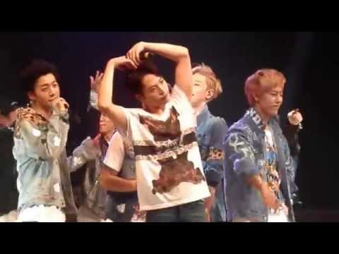 [FANCAM] 140419 B.A.P - Dancing in the Rain & Stop It  @ LOE Chicago