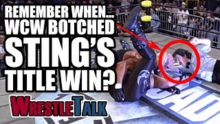 Remember When... WCW Botched Sting's Title Win At Starrcade 1997?