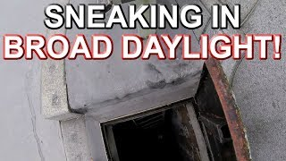 SNEAKING IN BROAD DAYLIGHT - Rochester Bridge Abandoned Underground