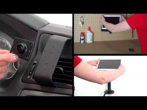 Play Video: Charging Holder with Cigarette Lighter Plug