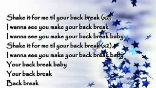 Jay Sean   Break Ya Back    Lyrics On Screen