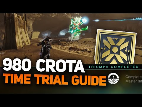 Crota Time Trial Guide - Master Nightmare Hunt Despair Triumph (Destiny 2 Shadowkeep)