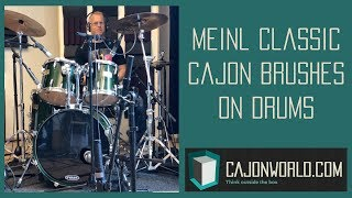MEINL Classic Cajon Brushes on Drums