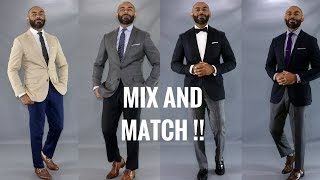 How To Mix And Match Mens Suits/Mix And Match Suits
