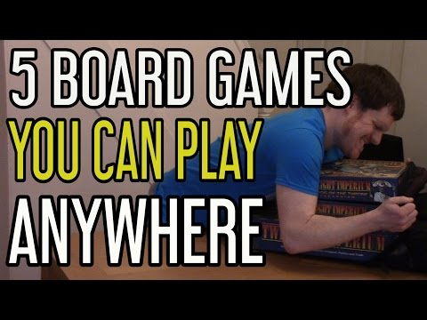 5 Board Games You Can (Pretty Much) Play Anywhere