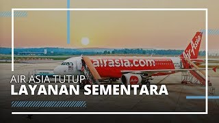 Imbas Corona, Maskapai Air Asia Indonesia Hentikan Layanan Sementara