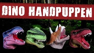 DinoWorld ™ Handpuppen - Review