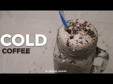 Cold Coffee Recipe In Hindi - How To Make Cold Coffee - Iced Coffee Recipe By Cocktail Cocking