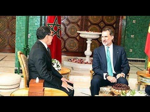 العرب اليوم - شاهد: الملك فيليبي السادس يستقبل رئيس الحكومة المغربية