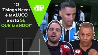 Thiago Neves é detonado após ironizar derrota do Grêmio: 'Está se queimando'