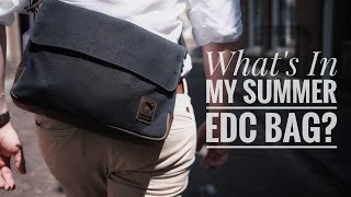 My Everyday Carry Messenger Bag (Summer 2020) I Whats In My Bag?