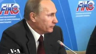Владимир Путин о протестах на Западе