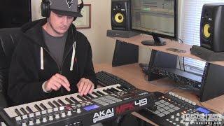 Beat Making: Boom Bap East Coast Hip-Hop Instrumental | Sample Beat, MPK49 | TCustomz Productionz