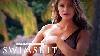 Samantha Hoopes' Wet & Colorful St. Lucia Paradise | Intimates | Sports Illustrated Swimsuit