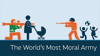 """צה""""ל - הצבא המוסרי ביותר בעולם"""