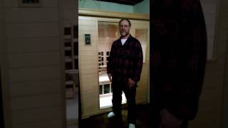 Randy talks about why he purchased a Clearlight Infrared Sauna and the benefits they've received