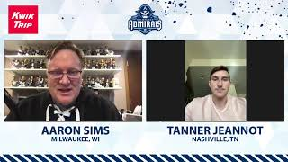 [MIL] Catching up with Tanner Jeannot