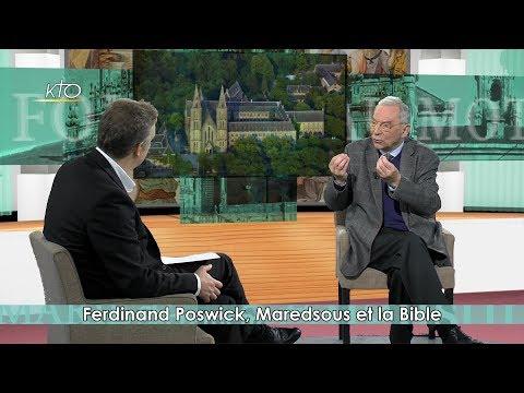 Ferdinand Poswick, Maredsous et la Bible