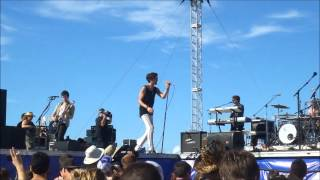 The All-American Rejects - Heartbeat Slowing Down - Bud Light Port Paradise Music Festival 11/18/12