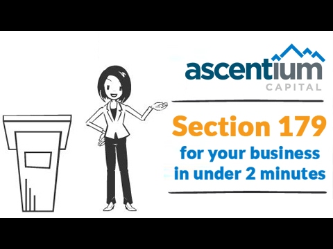 Section 179 for 2017: You may deduct $510K or more for your business. Video