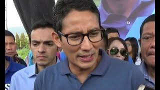 Tanggapi Pernyataan Prabowo, Sandi Sebut Capres Pasangannya Ingin Driver Ojek Online Jadi Pengusaha