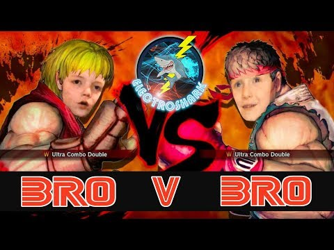Sibling Rivalry - Bro Vs Bro on Street Fighter IV