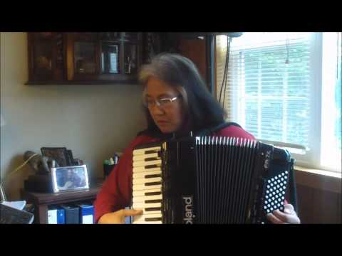 """Natalia"" Liz Wisler on Roland FR7X midi-accordion"