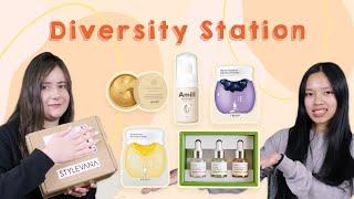 @Diversity Station   Korean Makeup/Skincare Haul