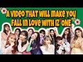 A video that will make you fall in love with IZONE 아이즈원 or love them even more