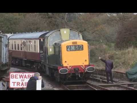 BR Green Clayton 8568 in action at the South Devon Diesel Ga…