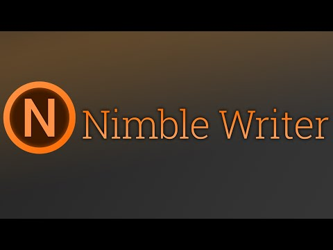Nimble Writer GLOBAL Key Steam - video trailer