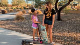 Lily is a SKATER!