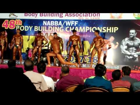 Mr kollam body show 2017-2018