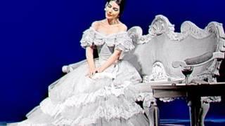 Maria Callas Incredible ! La Traviata London 1958 , Rec Private Wonderful Sound Titonut 2017
